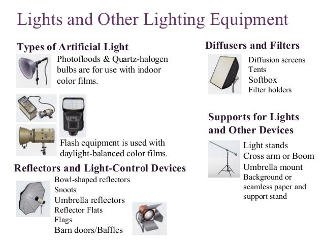 8. Lights and Other Lighting Equipment Types ...  sc 1 st  SlideShare & Photography lesson 07 azcodes.com