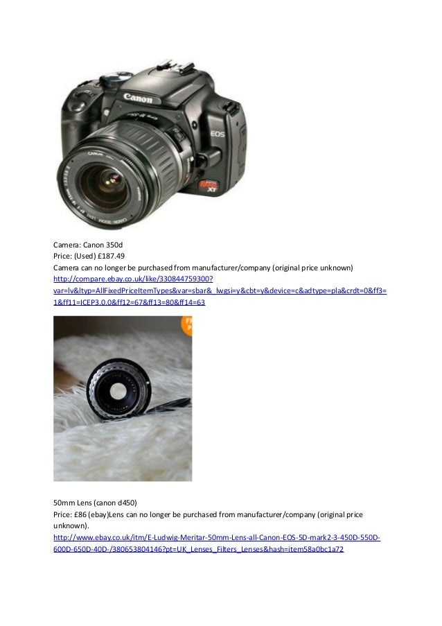 Photography prices