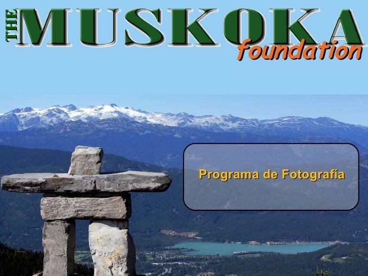 foundation Programa de Fotografía THE