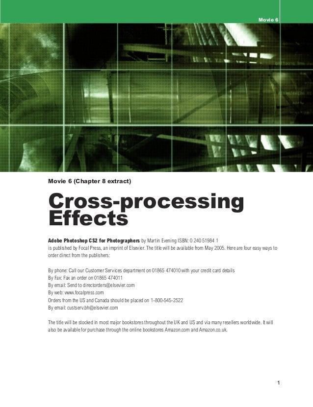 Movie 6                                                                                        Cross-processing effectsMov...
