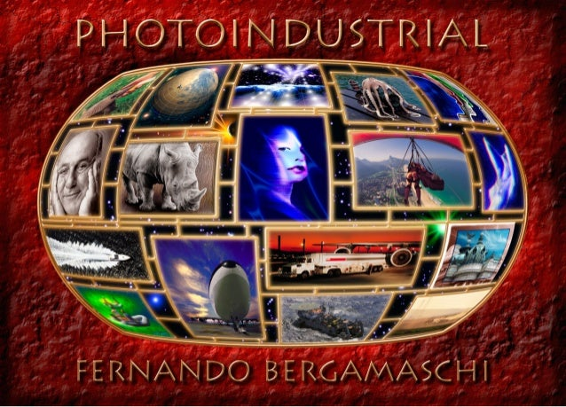 Photoindustrial poster with photography of Fernando Bergamaschi