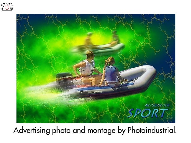 Advertising photo and montage by Photoindustrial.