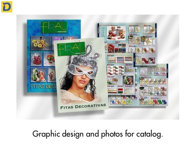 Graphic design and photos for catalog.