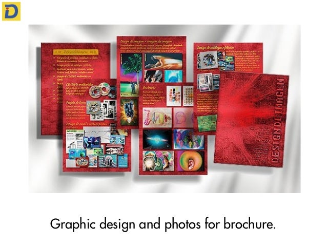 Graphic design and photos for brochure.