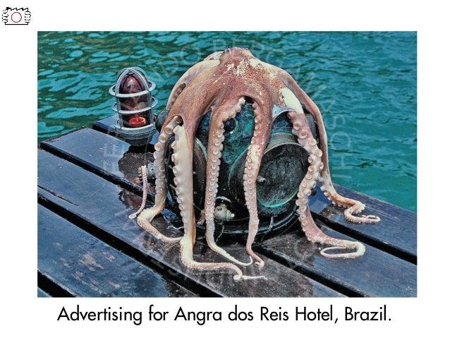 Advertising for Angra dos Reis Hotel, Brazil.