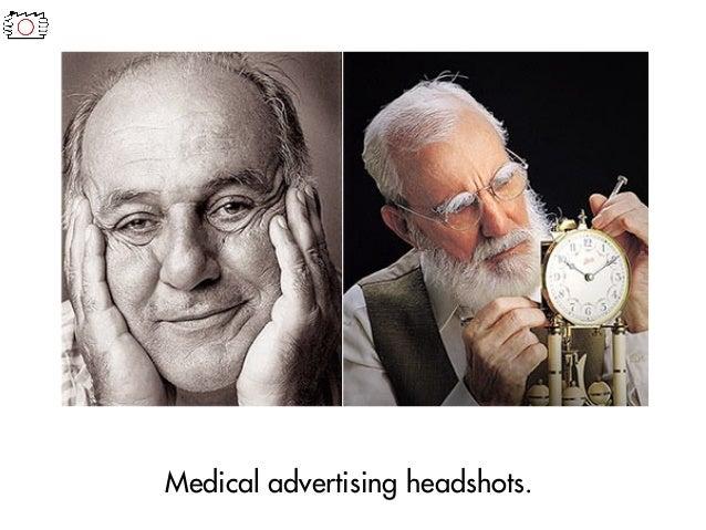 Medical advertising headshots.