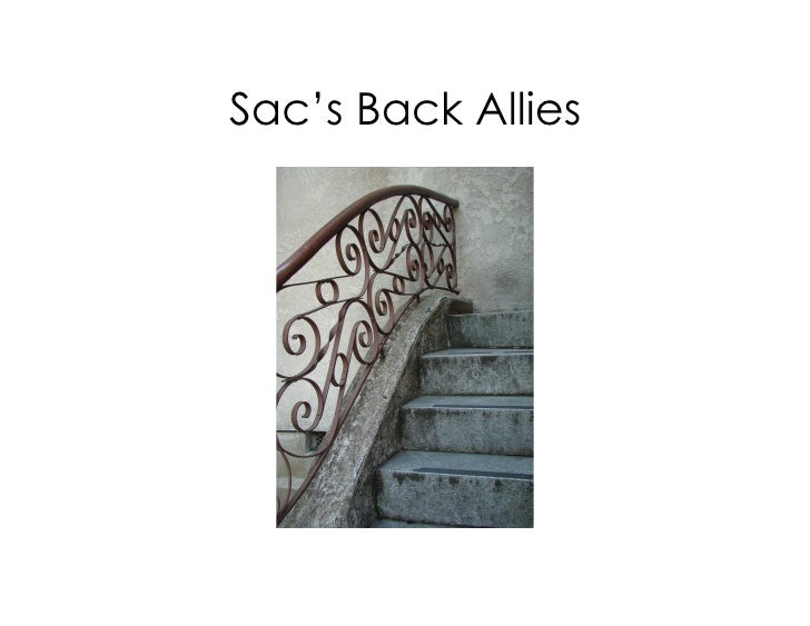 Sac's Back Allies
