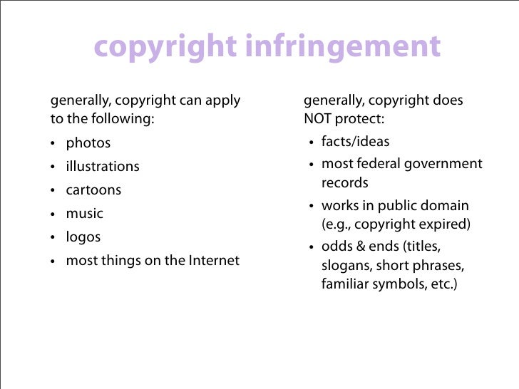 common fair use examples       graphics created by the Student Press law Center, Media Law Presentations