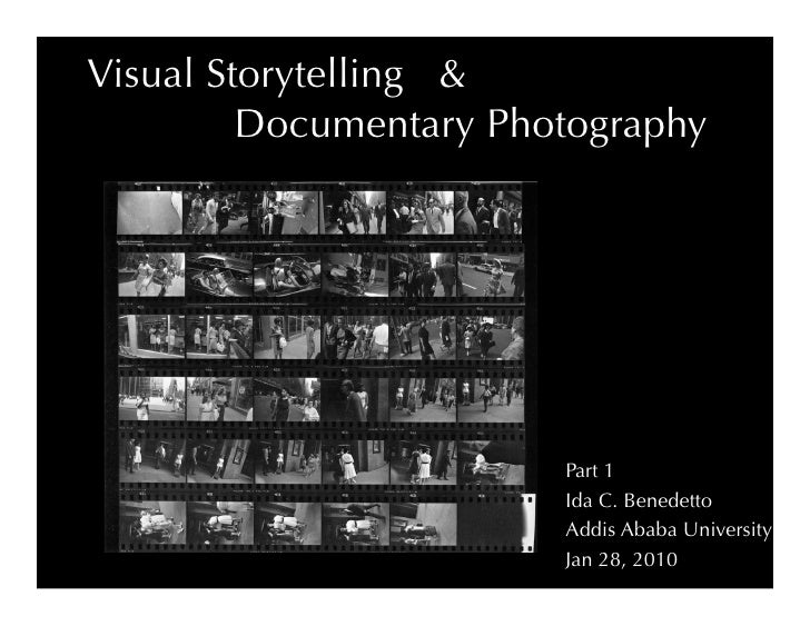 Visual Storytelling &