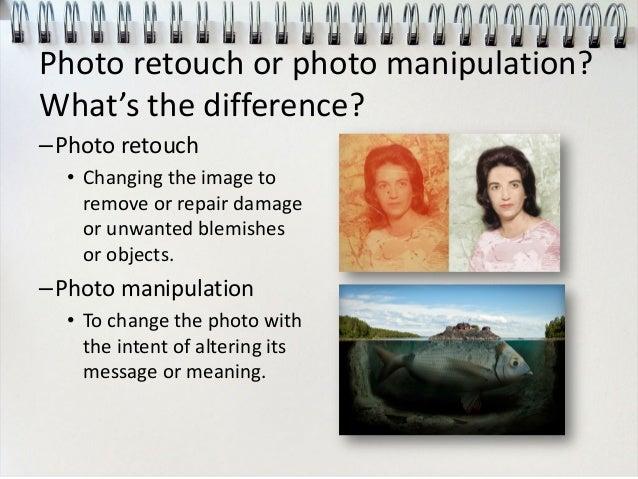 Photo manipulation ethics
