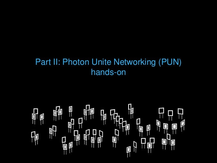 Photon server matchmaking