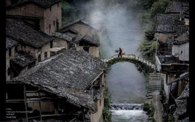 TITLE Faint Love For Ancient Village AUTHOR Hong Ding