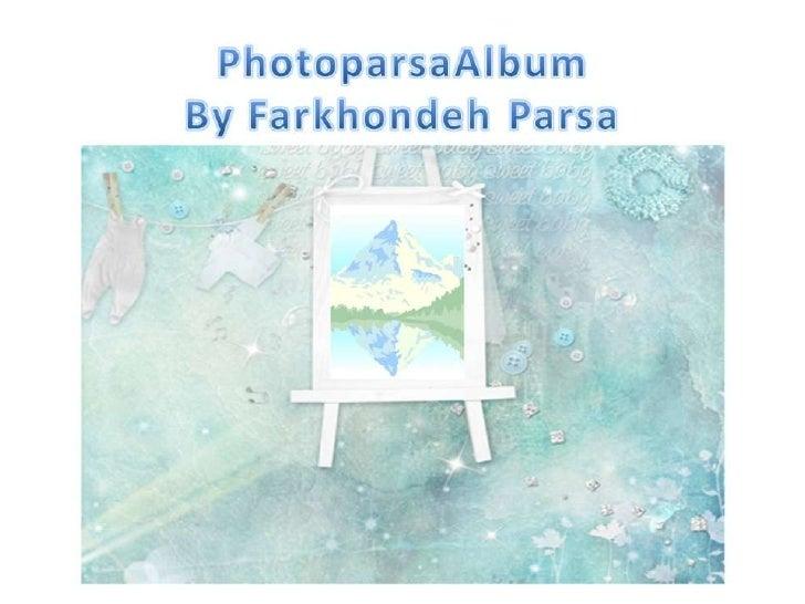 Photo parsa album 610