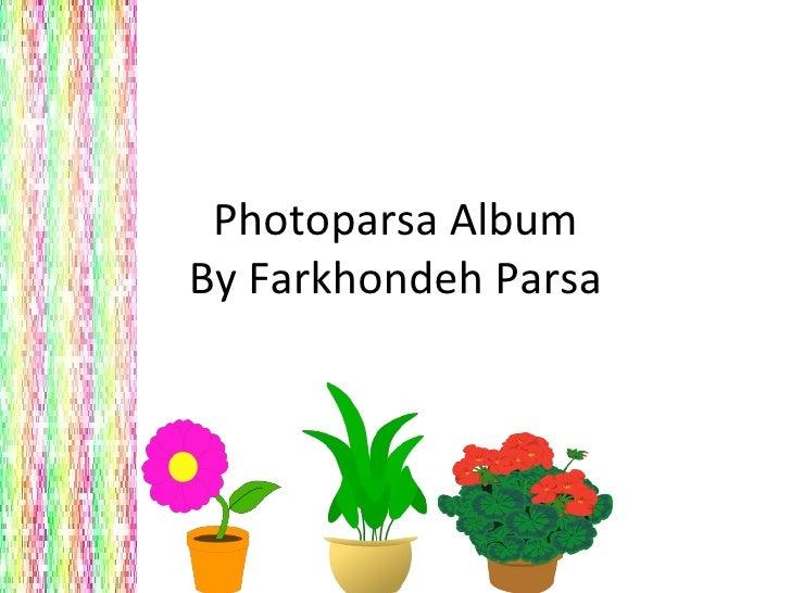 Photoparsa Album By Farkhondeh Parsa