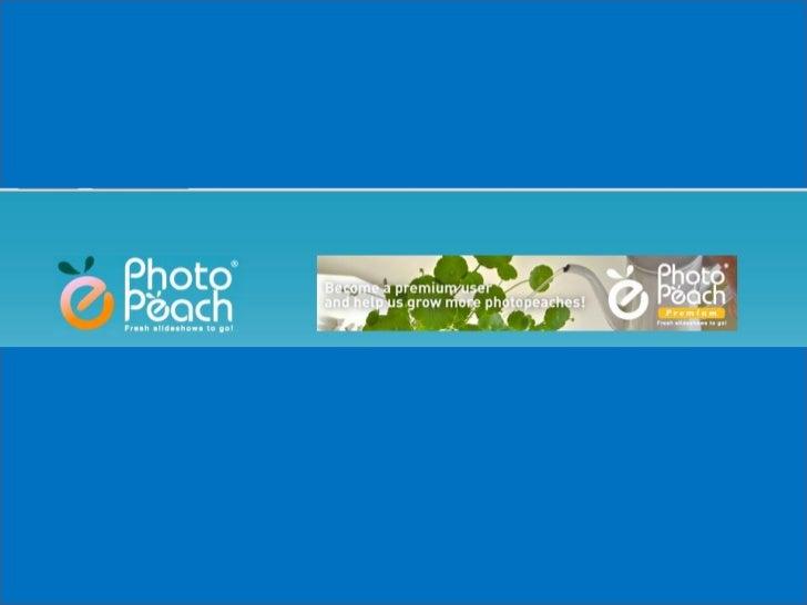 1.Crear una presentación nueva2. Añadir Fotos a una presentación existente3. Reordenar las fotos de una presentación exist...