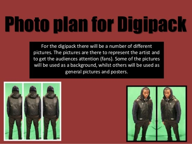 Photo Plan For Digipack