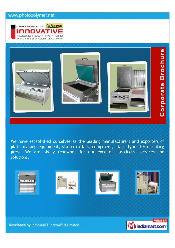 Innovative Flexotech Private Limited, Ahmedabad, Plate
