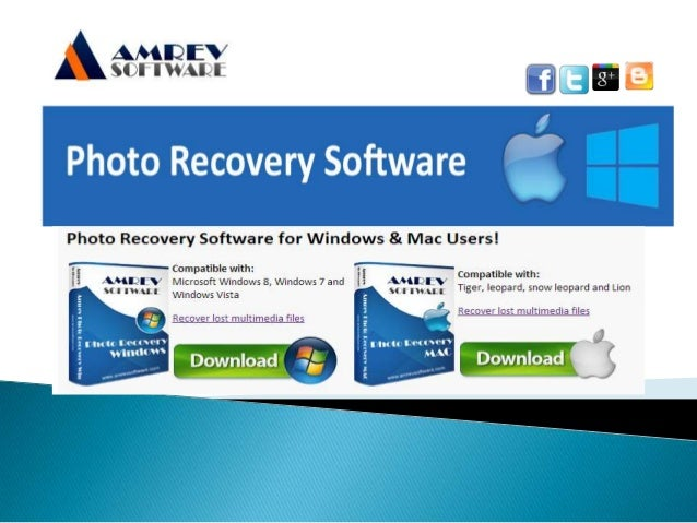 Amrev Photo Recovery Software