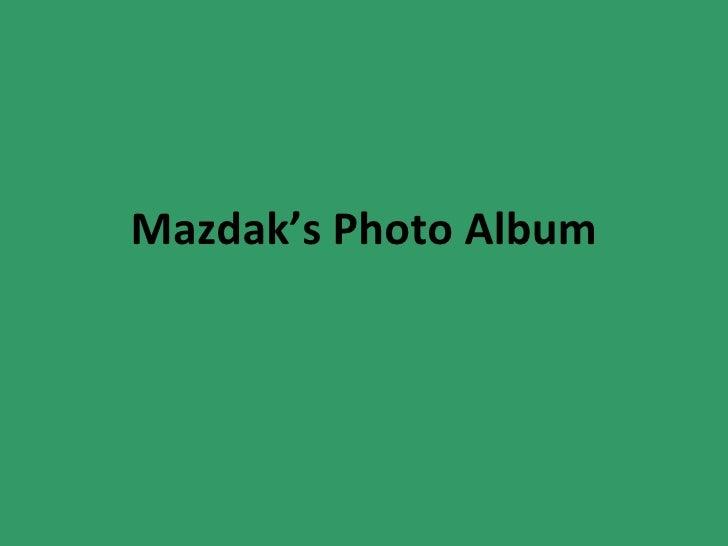 Mazdak's Photo Album