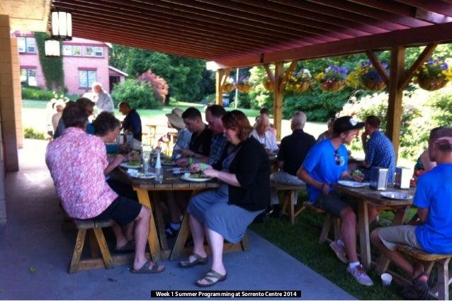 Week 1 Summer Programming at Sorrento Centre 2014