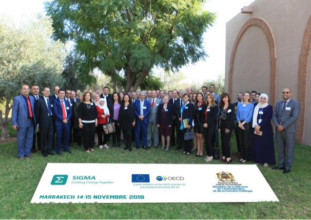 Photos: SIGMA Regional Conference on Service Delivery in the European Neighbourhood South Region, Morocco, 14-15 November ...