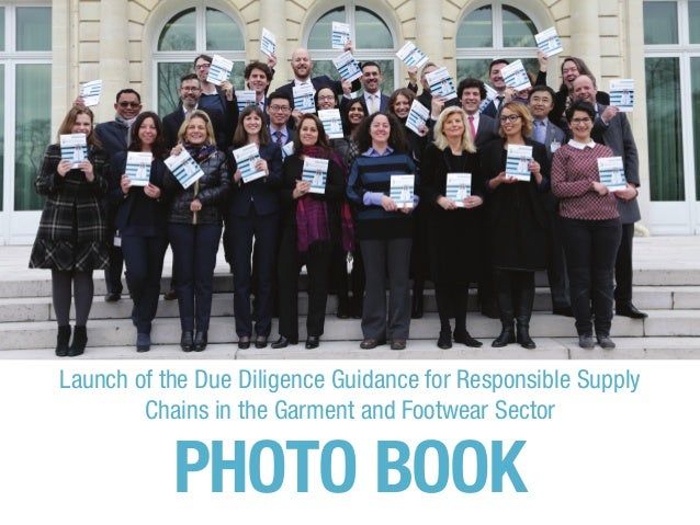 Launch of the Due Diligence Guidance for Responsible Supply Chains in the Garment and Footwear Sector PHOTO BOOK