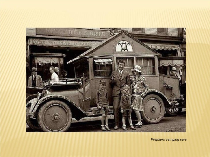 Premiers camping cars
