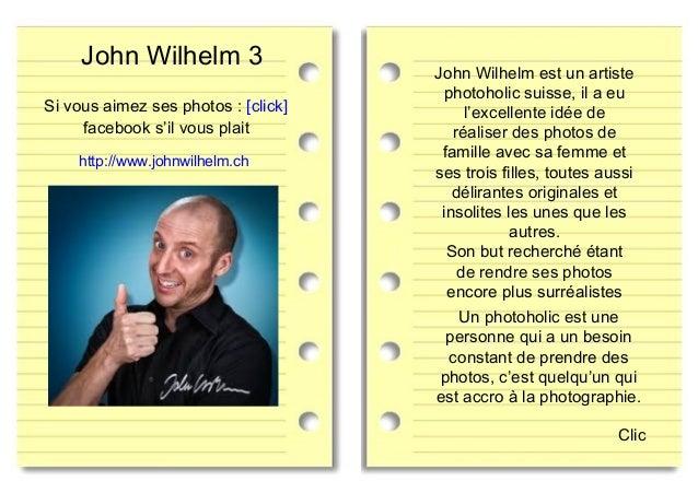 John Wilhelm est un artiste photoholic suisse, il a eu l'excellente idée de réaliser des photos de famille avec sa femme e...