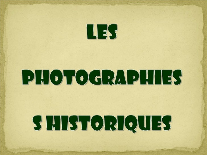 1838. Paris. la première photo d'un paysage. Nicéphore Niépce invente la photographie etLouis Daguerre la perfectionne ave...
