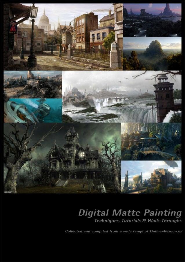 Photoshop Digital Matte Painting Techniques