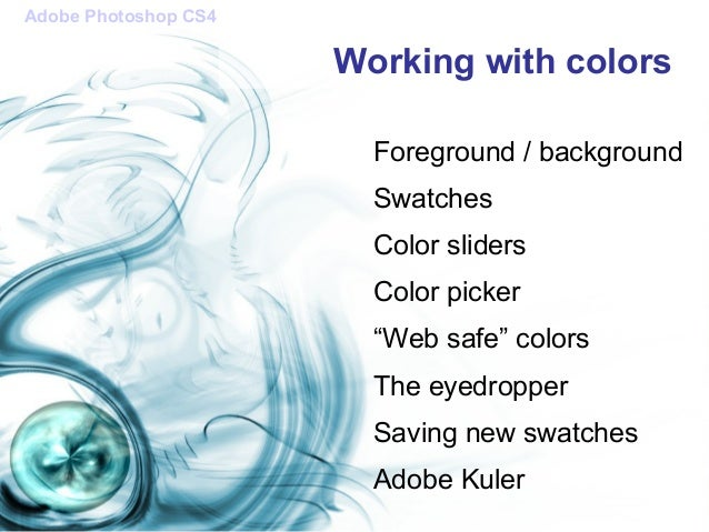 how to create outline in photoshop cs4