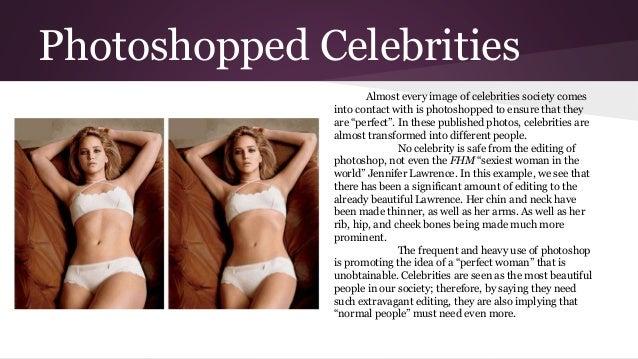 Celebrities in the media essay