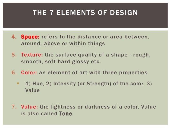 Photoshop Class: Elements of Art & Design (9/19/2012)