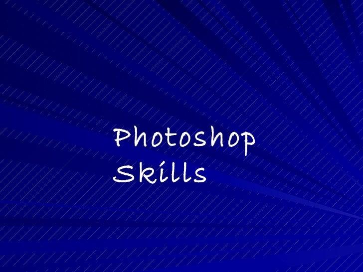 PhotoshopSkills