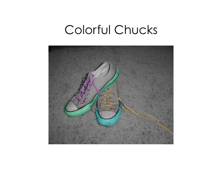 Colorful Chucks