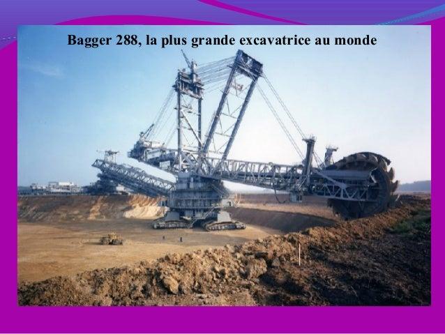 Bagger 288, la plus grande excavatrice au monde