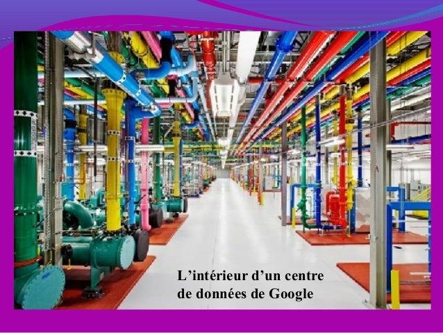 L'intérieur d'un centre de données de Google