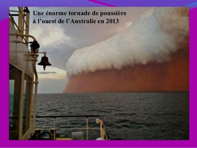Une énorme tornade de poussière à l'ouest de l'Australie en 2013