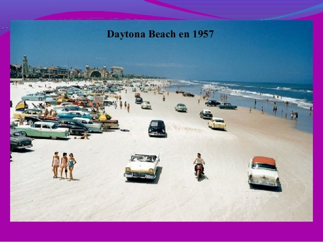 Daytona Beach en 1957