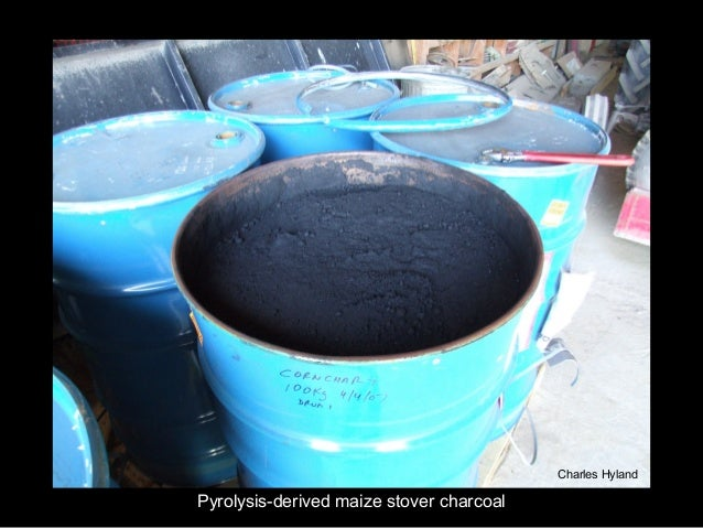 Charles HylandPyrolysis-derived maize stover charcoal