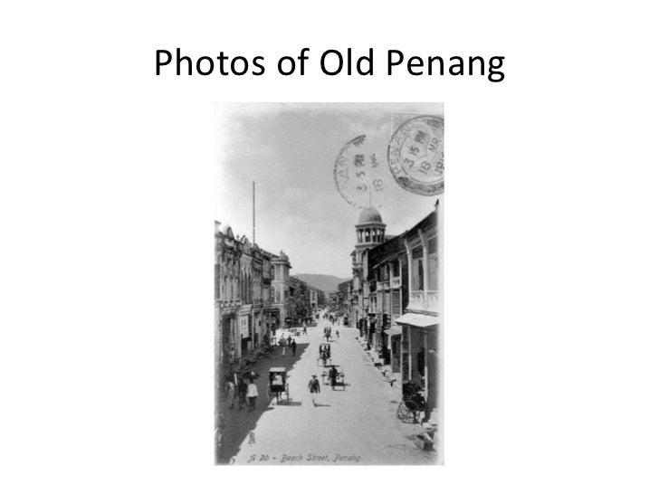 Photos of Old Penang
