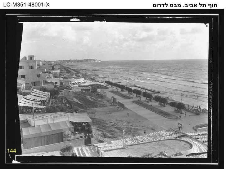 144 חוף תל אביב .  מבט לדרום LC-M351-48001-X