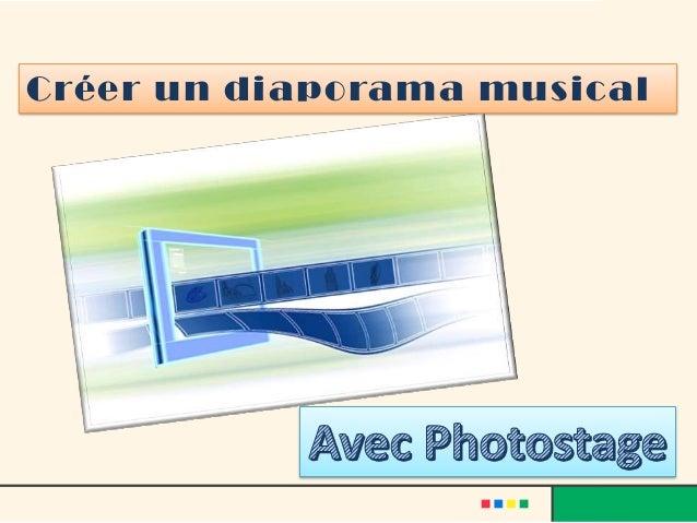 TÉLÉCHARGER PHOTOSTAGE - PRODUCTEUR DE DIAPORAMAS