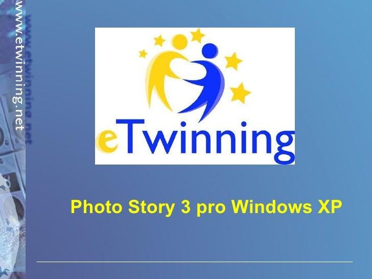 Photo Story 3 pro Windows XP