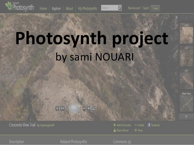 Photosynth project    by sami NOUARI