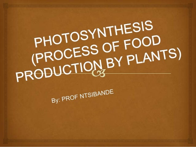  The process that occurs in green plants, wherebysolar energy is converted into chemical energyand stored as organic mol...