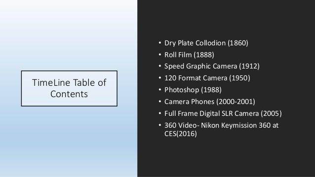 Photo timeline 2 Slide 2