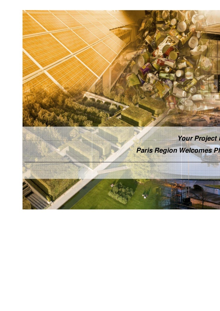 Your Project in the Paris RegionParis Region Welcomes Photovoltaic Players