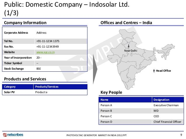 "latest report photovoltaic generator market in india In their latest research study, ""india diesel genset market outlook 2018  (20 to 625 kva), accounting for nearly half of the total diesel generator market our report covers the detail."