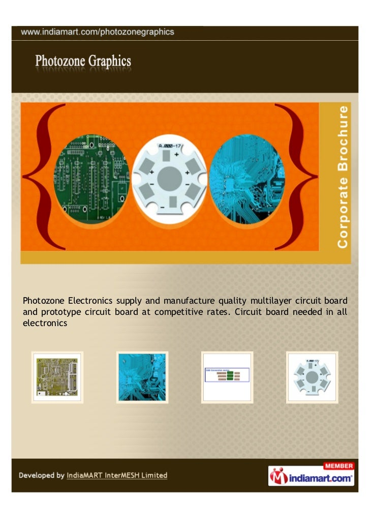 Photozone Electronics supply and manufacture quality multilayer circuit boardand prototype circuit board at competitive ra...